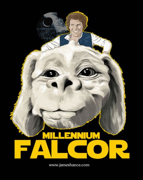 Star Wars and the Never Ending Story Funny Mashup