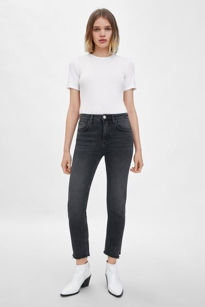 60b0c0524d Black high rise bootcut flared jeans - Bootcut & Flared Jeans ...