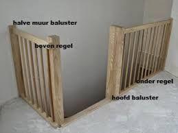 Verwonderend Afbeeldingsresultaat voor balustrade maken (met afbeeldingen DS-22