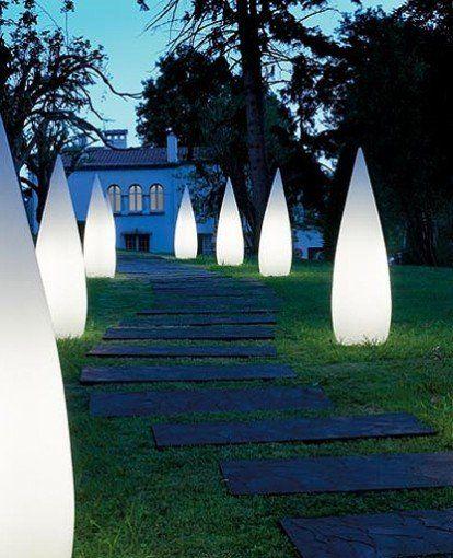 Schone Gartenlampe Dekoration Outdoor Floor Lamps
