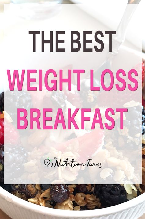 The Best Weight Loss Breakfast   Easy Breakfast Recipe   Very Filling, Healthy Breakfast Recipe to Help with Losing Weight and Getting a Flat Belly   For MORE RECIPES, fitness  nutrition tips please SIGN UP for our FREE NEWSLETTER www.NutritionTwins.com