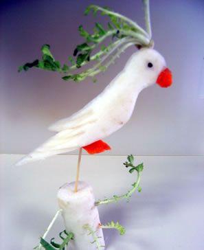radish bird
