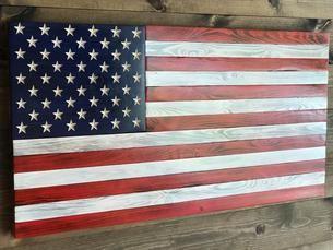 Concealment Flag American Flag Gun Case Rustic American Flag