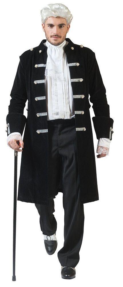 Größe Rot Steampunk Hochwertige Gothic FaschingCosplay Vampir für XL I Verkleidung Karneval Mantel für I Halloween viktorianisch Pirat Herren m80wnN
