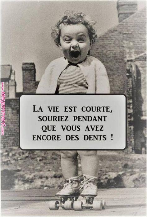 Ne soyez pas trop sévère ... Souriez à pleines dents...   Sourire-Rire-Joie   Pinterest   Quotes, Quote citation and Humor