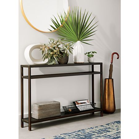 huge selection of 5c09a ad31c Echelon Console Table   Front Hall in 2019   Narrow console ...