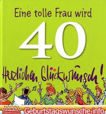 Gluckwunsche Zum 40 Geburtstag Gluckwunsche Zum 40 Geburtstag