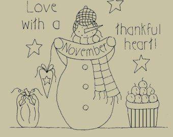 "/""Welcome crisp October days and pumpkin carving!/"" Snowman Month October"