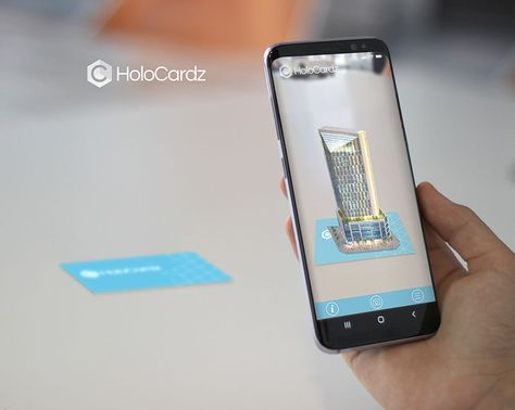Augmented Reality Business Cards in Architecture