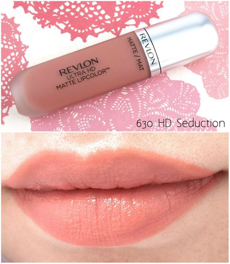 """The Happy Sloths: Revlon Ultra HD Matte Lipcolor in """"Passion"""", """"Seduction"""" & """"Temptation"""": Review and Swatches"""