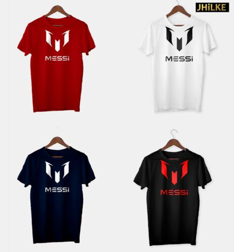 Details About Messi Logo T Shirt In 2020 Messi T Shirt Messi