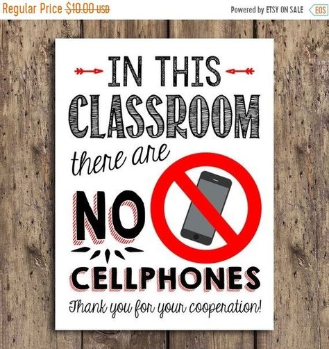 THRU 2/23 ONLY Classroom Poster, Teacher Rules, Classroom Sign, No