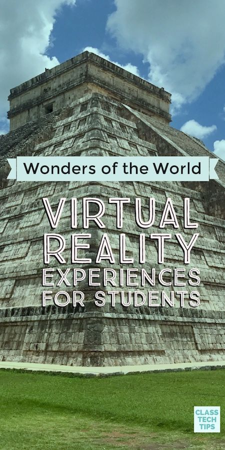 virtual reality technology - Wonders of the World Virtual Reality Videos for Students Virtual Reality Education, Virtual Reality Videos, Home Learning, Fun Learning, Teaching Kids, Learning Spanish, Virtual Travel, Virtual Tour, Virtual World