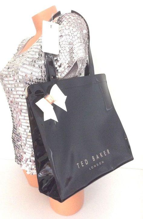 3265636f41 Ted Baker Auracon Icon Bow Large Tote Shopper Shoulder Handbag Bag NWT # TedBaker #Tote