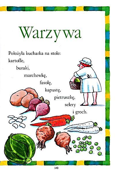 Fragment Wiersza Warzywa Tuwima Str349 Warzywa