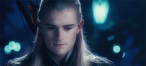 The Hobbit and LOTR Imagines - Helpless (Legolas x Reader)