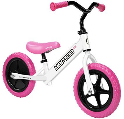 Haptoo Balance Bike Kid Bike 12 Inches Ages From 3 To 6 Years Old Lightweight Balance Bike No Pedal Portable Outdoo Kids Bicycle Kids Bike Walking Bicycle