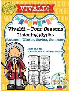 This Is A Package Of Vivaldi S Four Seasons Listening Glyphs