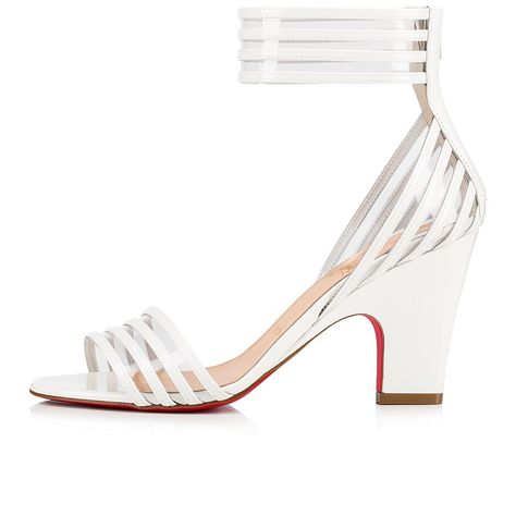 ca52e1c38 Myriadina Patent / PVC 85 Snow Patent piel de becerro y PVC - Zapatos de  mujer - Christian Louboutin