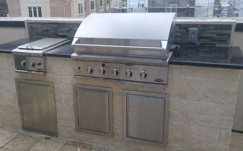 Outdoor Kitchen Grills Outdoor Kitchen Grill Outdoor Kitchen Wood Deck Patio