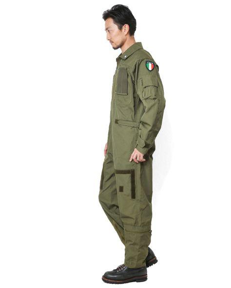 ☆ただいま20%割引中☆実物 新品 イタリア軍 ノーメックス フライトカバーオール(つなぎ)△