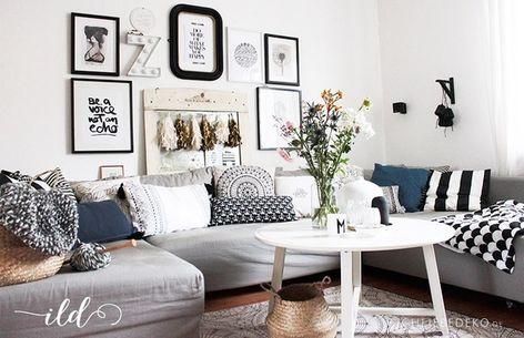 40 Elegant Wohnzimmer Deko Retro Home Decor Living Room Room