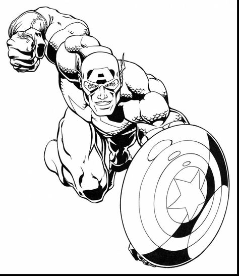 Marvel Super Hero Squad Coloring Pages Coloring Pages Pictures