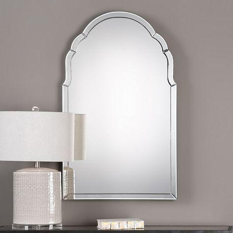 Uttermost Brayden Frameless Wall Mirror Lighted Wall Mirror