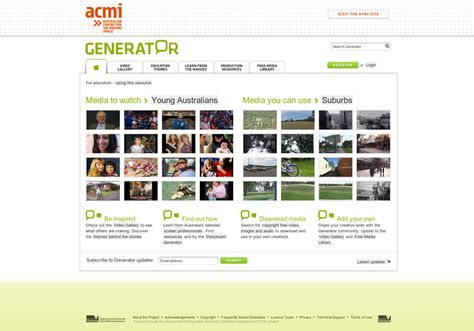 Welcome To The Storyboard Generator HttpGeneratorAcmiNetAu