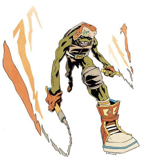 Raphael is cool, but crude by Karate-Chop | Teenage mutant