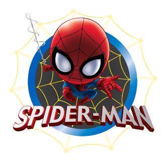 Mini Stylized Spider Man In Web Spiderman Stylized Wonder Man