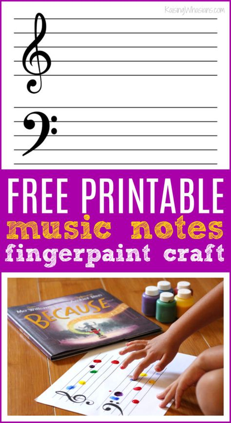 FREE Printable Music Notes Craft to Remember the 'Because' Moments FREE Printable Music Notes Craft Idea Music Lessons For Kids, Music Lesson Plans, Music For Kids, Good Music, Piano Lessons, Art Lessons, Piano Crafts, Preschool Activities, Music Activities For Kids