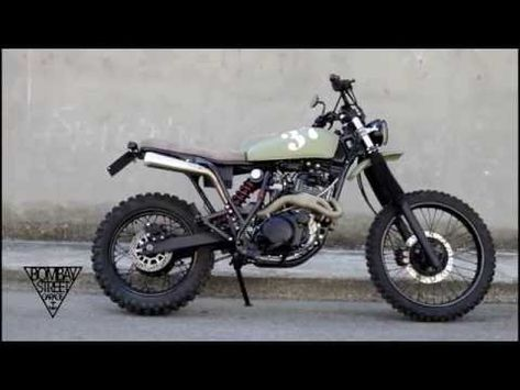 BOMBAY #5 by Bombay Street Garage, Yamaha XT600 Scrambler/Offroad