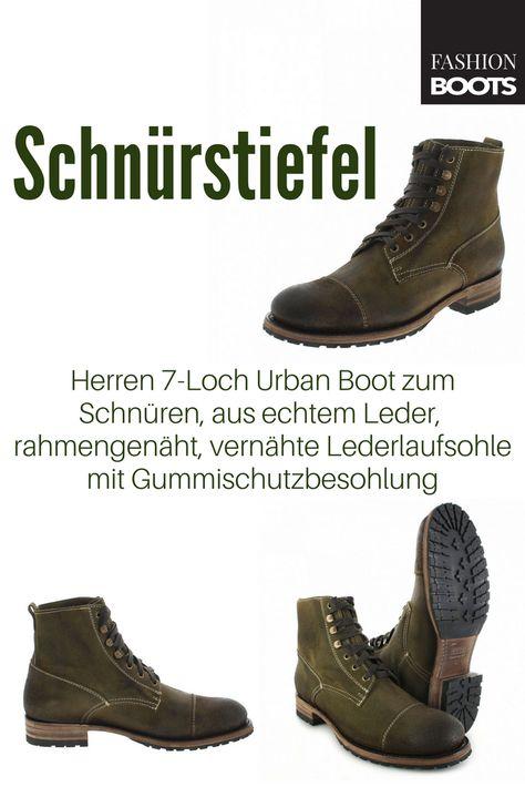 Sendra Boots 12334 Tang Urban Boot Schnürstiefel braun