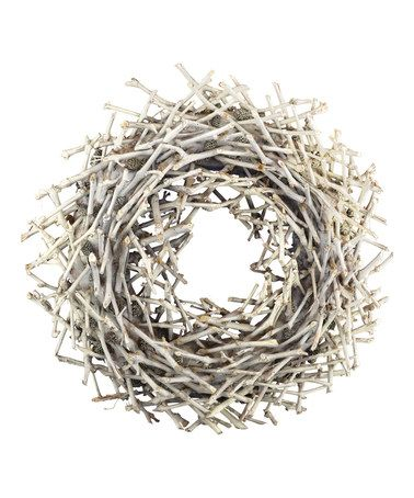 Look at this #zulilyfind! Nantucket Driftwood Wreath #zulilyfinds
