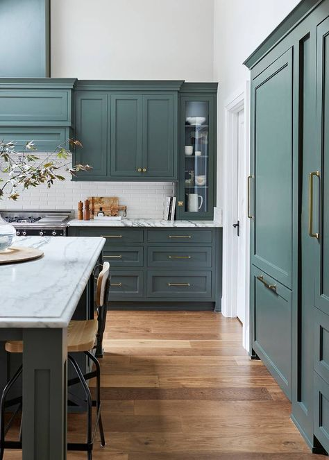 We Want These Green Kitchen Cabinets Stat in 2019   Green ...
