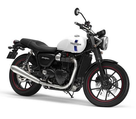 produits de qualité États Unis nouveau style et luxe New 2018 Triumph Street Twin - Crystal White | Motorcycles