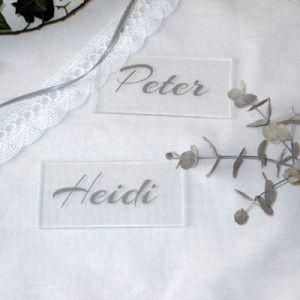 Acryl Tischkarte Stil Acryl Schilder Tischkarten