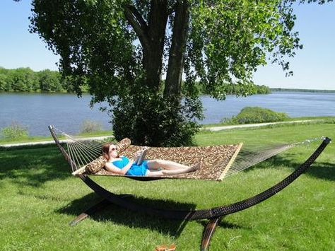 Medium image of wicker hammock stand   wicker hammock stand   pinterest   hammock stand
