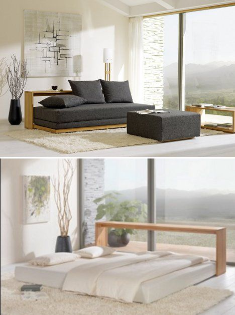 The stylish Stefano sofa bed completely redefines the functionality of a sofa  bed, lending a