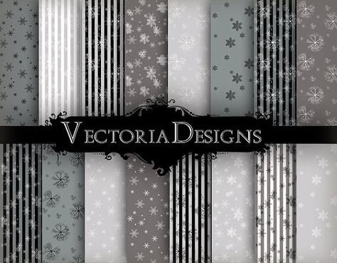 christmas papers silver snow digital paper pack paper crafting