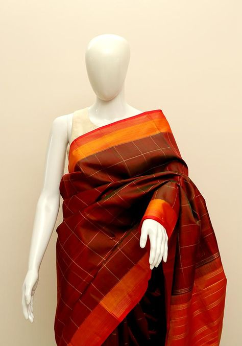 eea021a8716372 Kanchipuram Silk Saree – Desically Ethnic | Sarees