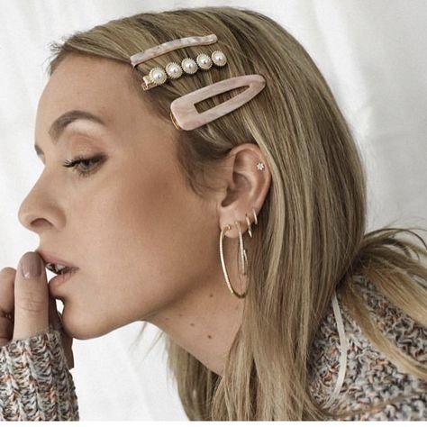 Acrylic Hair Clips