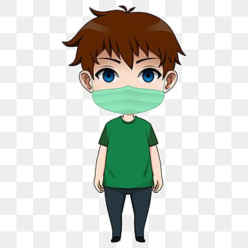 Anime Chibi Character Use Face Mask Children Baby Person Png Transparent Clipart Image And Psd File For Free Download Anime Chibi Chibi Chibi Characters