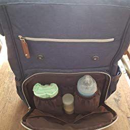 Baby Wickelrucksack Wickeltasche mit Wickelunterlage Multifunktional Oxfrod Gro/ße Kapazit/ät Babytasche Kein Formaldehyd Reiserucksack f/ür Unterwegs