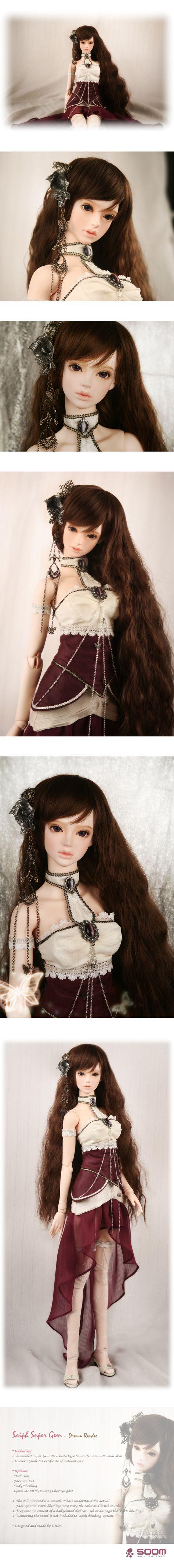 BJD 1//4 Doll soom Teschen /& Mylo Child free eyes facial makeup-Animal body