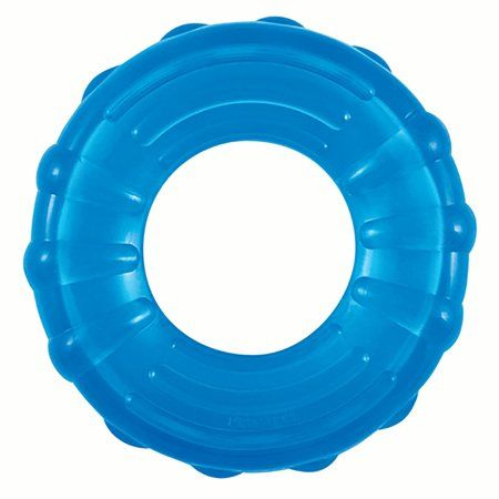 Orka Tire Rubber Chew And Fetch Toy For Dogs Multicolor
