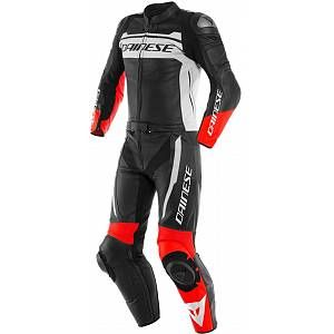 Dainese Mistel Two Piece Motorcycle Leather Suit Black White Red 48 In 2020 Motorcycle Leathers Suit Motorcycle Suit Black Motorcycle