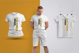 Download Free Three Men S T Shirts Jersey Mockup Psd Psfiles
