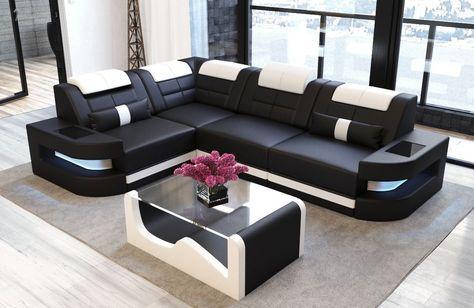 Ecksofa Como L Form In 2020 Wohnzimmer Sofa Ecksofas Und Sofa